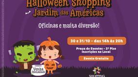 Halloween no Shopping Jardim das Américas