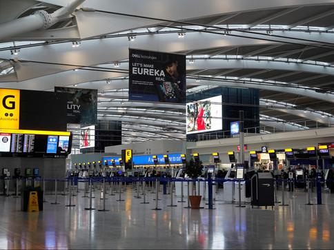 Reino Unido barra voos oriundos do Brasil por nova variante do coronavírus