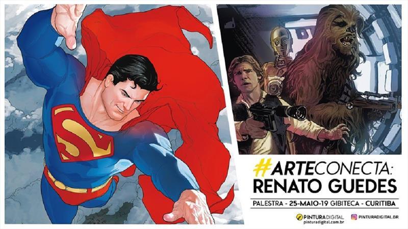 Desenhista da Marvel dá palestra na Gibiteca