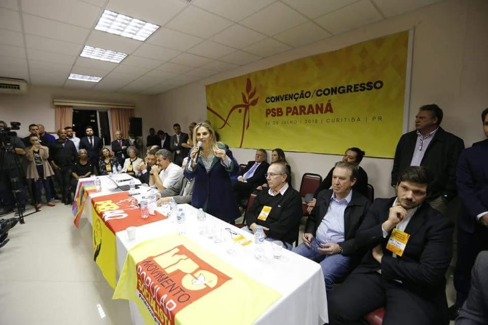PSB condiciona apoio a Cida à presença de Richa na chapa