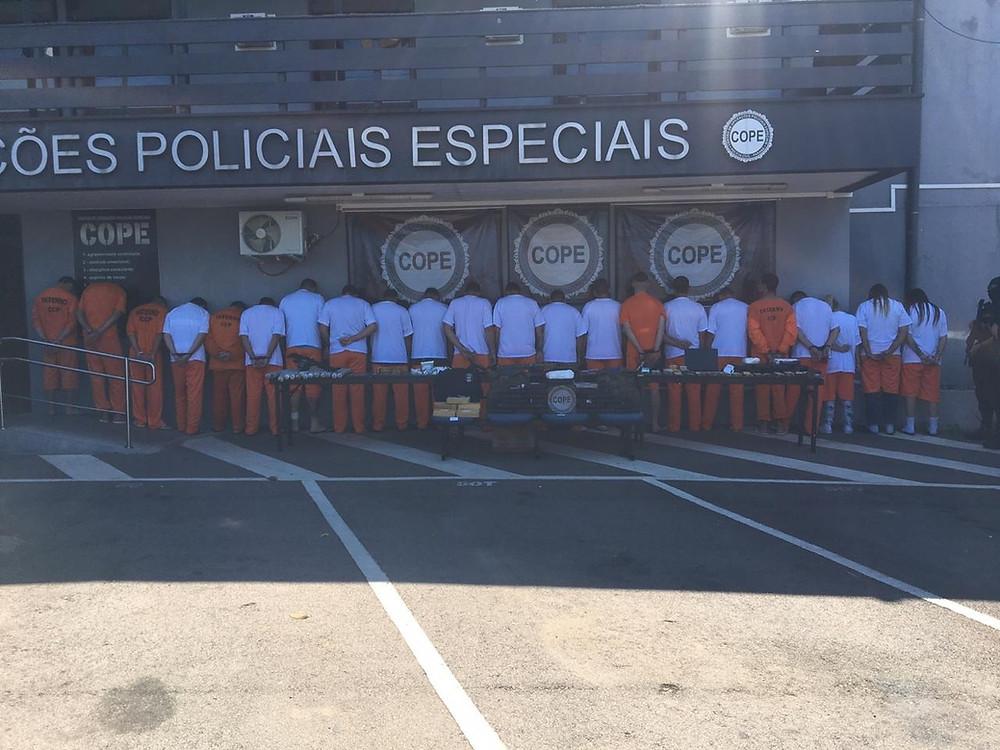Presa quadrilha que explodiu muro de Penitenciária em Piraquara