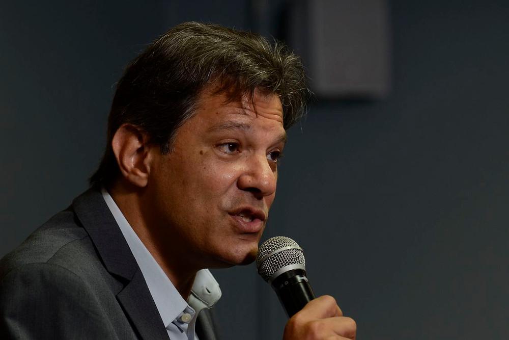 """Haddad recebe carta de """"apoio e apreço"""" de integrantes do PSDB"""