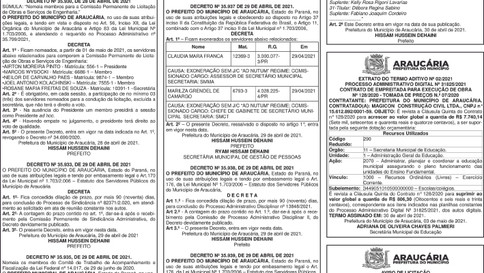 Publicidade Legal | Edital - 04/05/2021