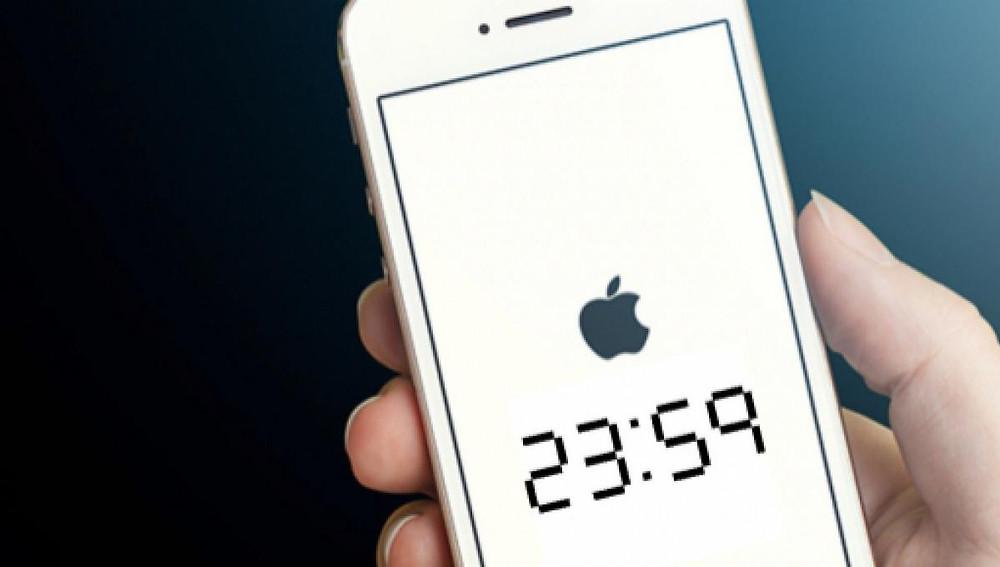 Iphones acordam usuários uma hora antes nesta segunda-feira