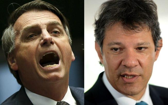 Bolsonaro abre 11 pontos de vantagem para Haddad