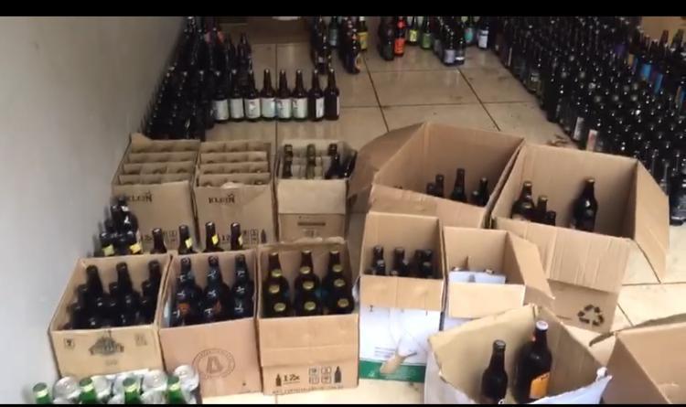 Preso homem que vendia bebidas vencidas no Paraná