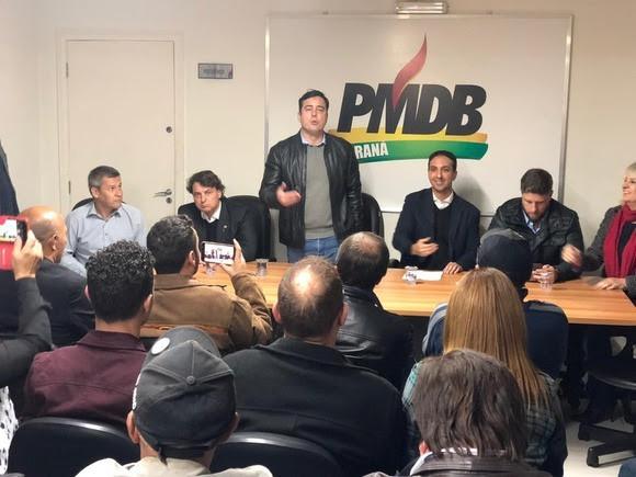 MDB lança João Arruda pré-candidato a prefeito de Curitiba