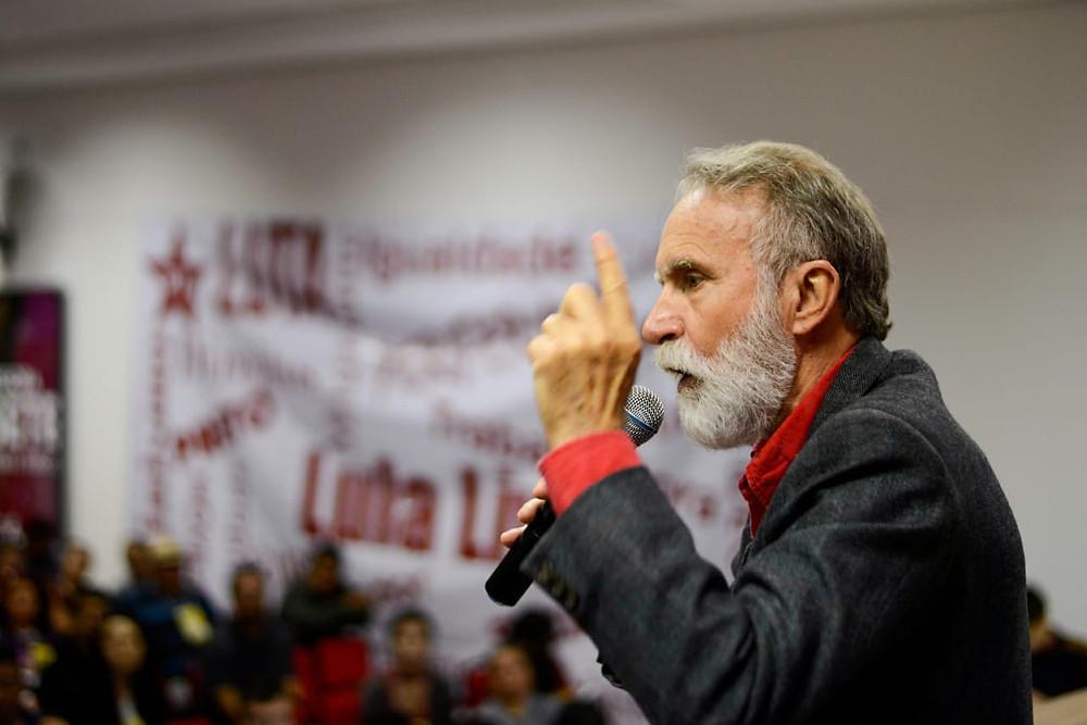 PT oficializa candidatura de Dr. Rosinha ao governo