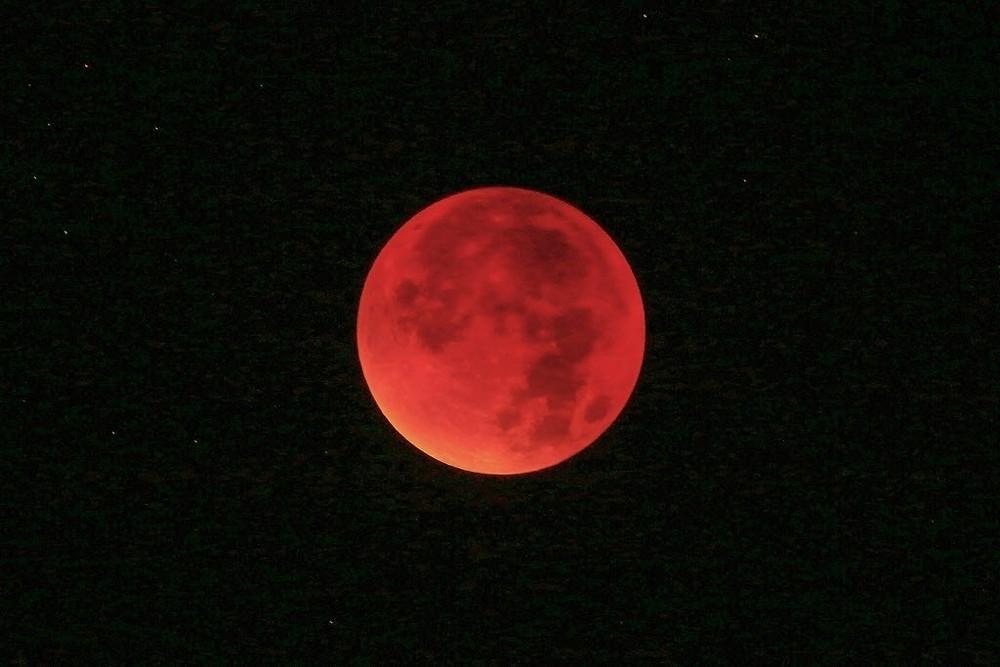 Eclipse total da Lua acontecerá na noite de 20 para 21