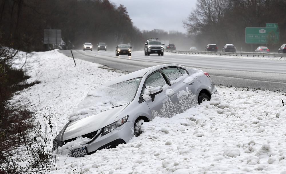 Neve chega de surpresa a Nova York e deixa sete mortos