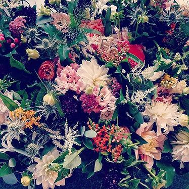 #texture #dahlia #thistle #basil #astilb