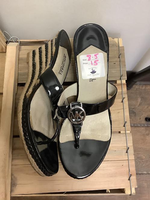 Michael Kors Flip Flop Wedges size 8.5