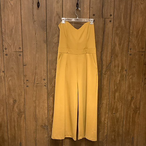 Have yellow mustard jumpsuit size XL