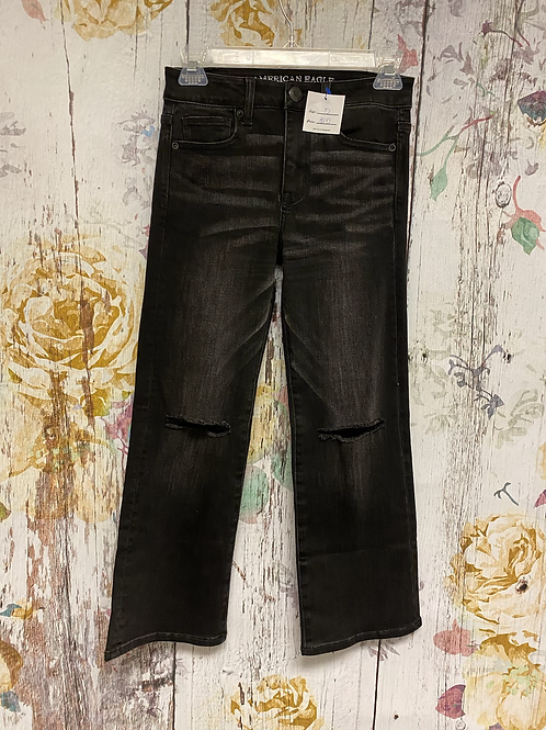 Size 0 AE *Flare Kick Crop* Jeans
