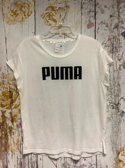 Medium Puma oversize T white
