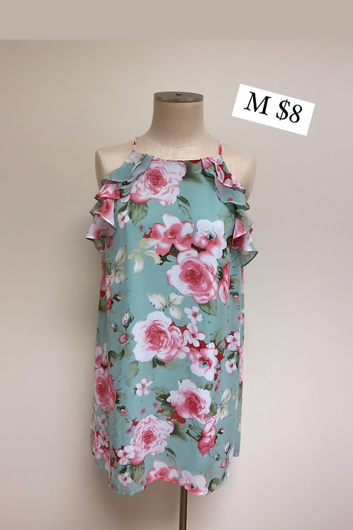 Size M Floral Dress