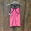 Thumbnail: Pink and grey Under Armour tank size S