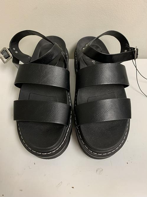 Madden girl platform sandals size 10