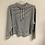 Thumbnail: Grey/white striped long sleeve size L/XL