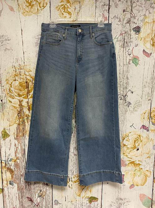 Size 8 Banana Republic wide leg jeans