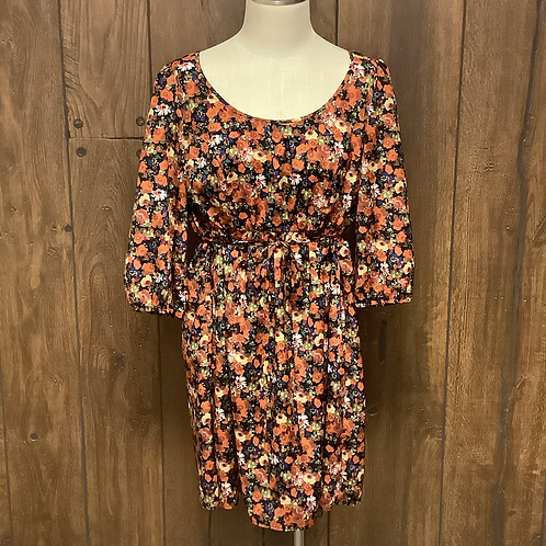Forever21+ flower dress size XL