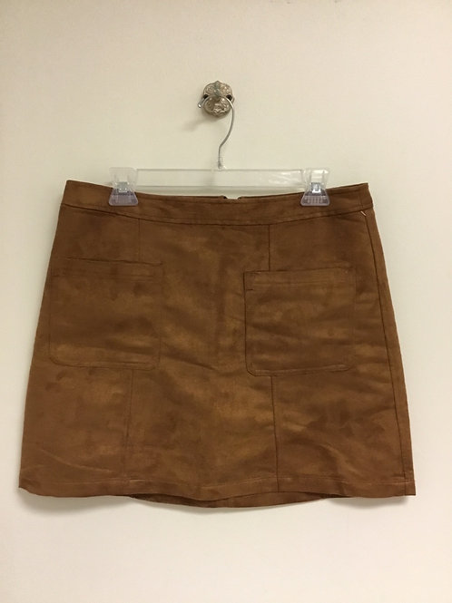 Old Navy faux suede skirt size 12