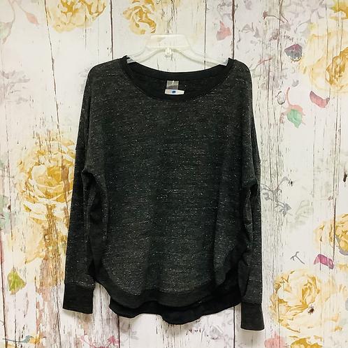 X-Large Calia asymmetrical sweatshirt grey