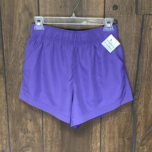 Athletic purple shorts size S