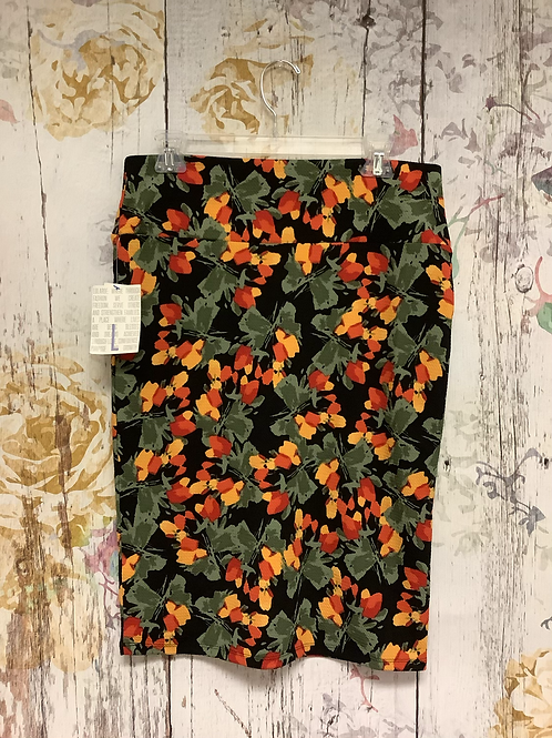 Large Lularoe Floral Skirt