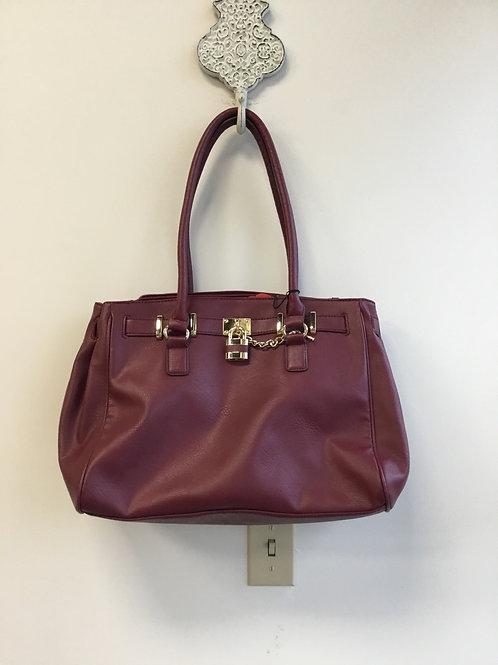 Apt. 9 burgundy large purse