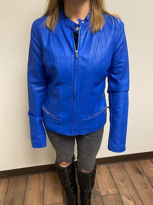 Size M leather jacket Express