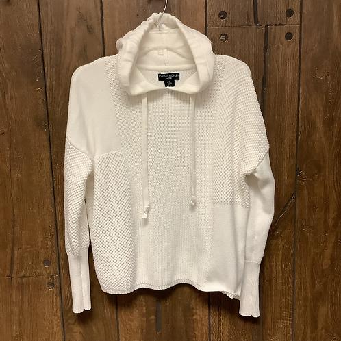 Medium Cynthia Rowley sweater hoodie white
