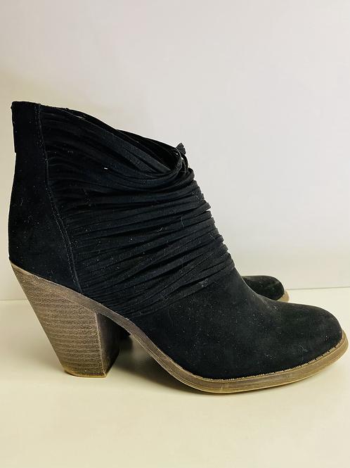 Fergalious size 7 black boots