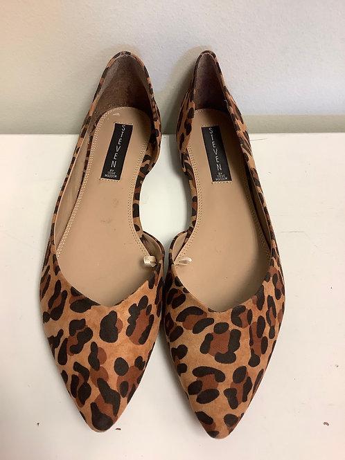 Size 10 Steve Madden leopard flats