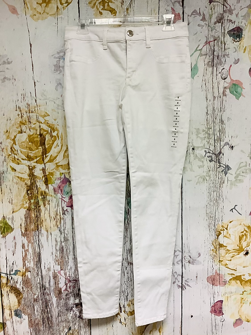 Size 8 American Eagle white jeggings