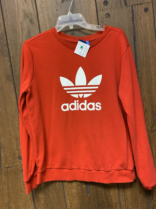 Red Adidas pull over size L