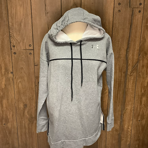 Grey Under Armour hoodie size M