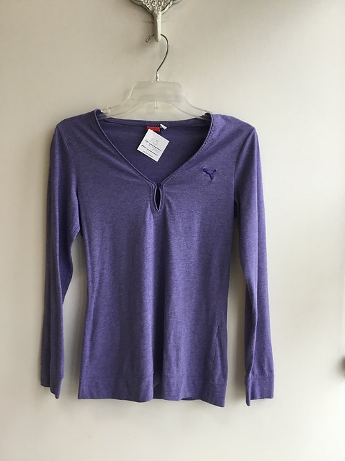 SIZE SMALL Puma long sleeve athletic top