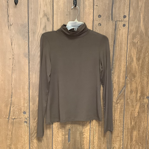 Thin brown turtleneck size S