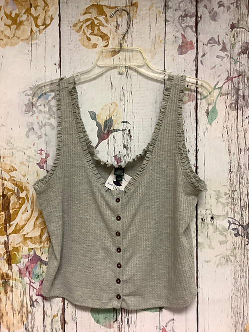 Large Wild Fable tank grey