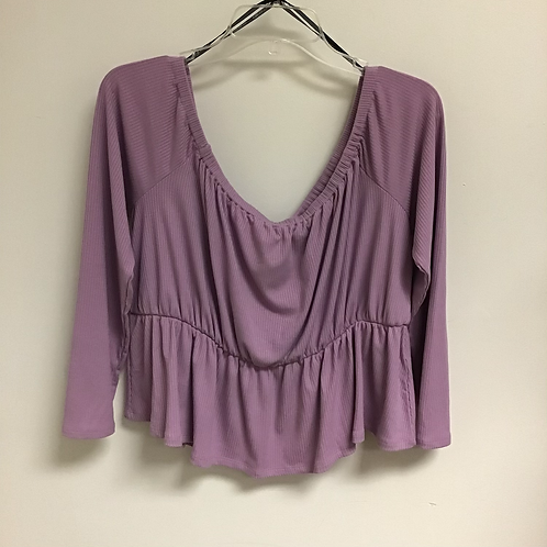 2X Forever 21 Purple Blouse