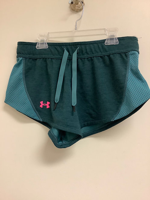 Teal Under Armour shorts size s