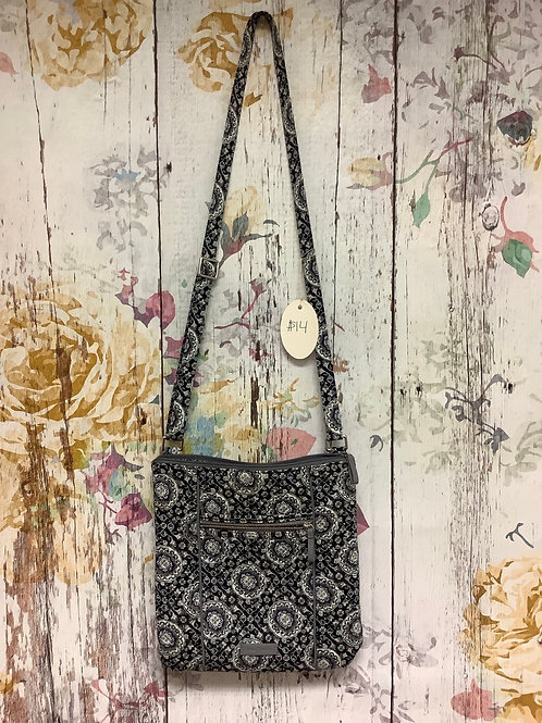 Vera Bradley crossbody navy/grey