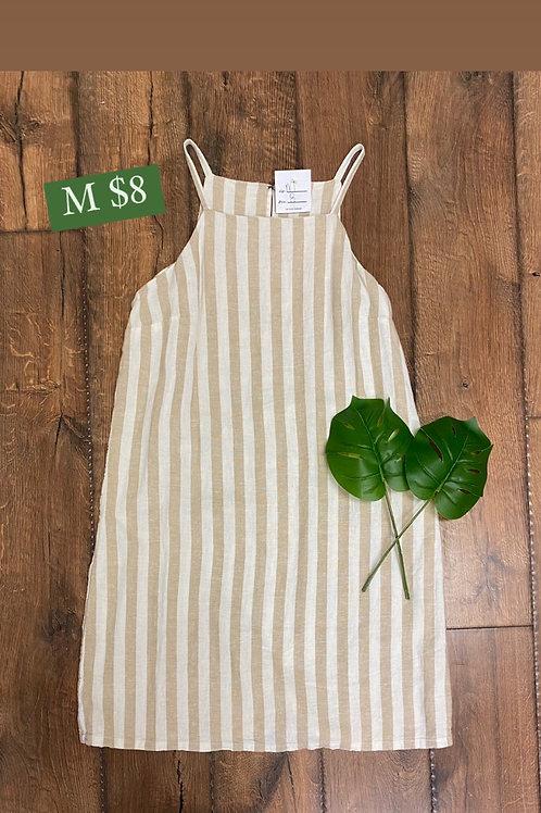 Size M Striped Dress