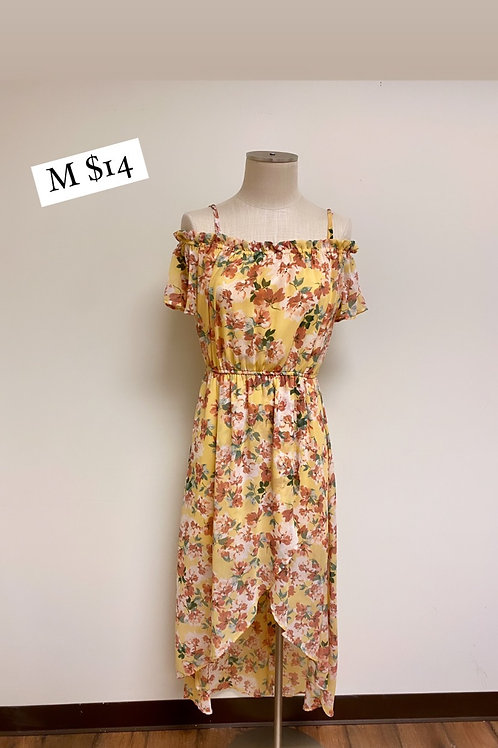 Size M Floral Dress As U Wish