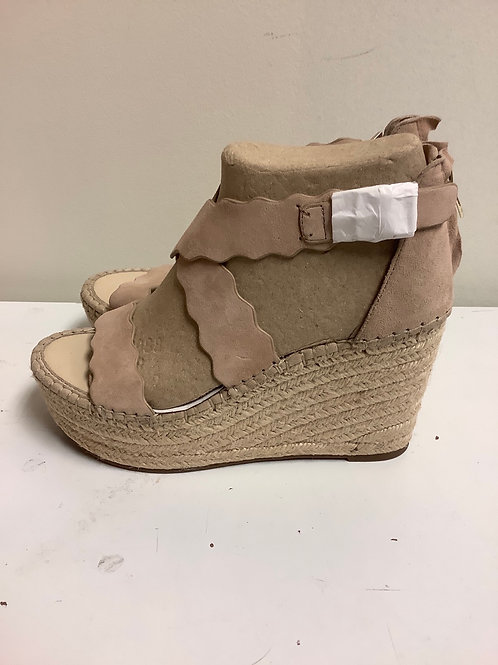 Size 8.5 Mark Fisher wedges nude
