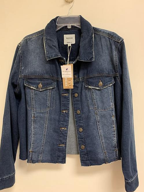 Kensie Jean jacket size XL NWT