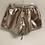 Thumbnail: Medium FashionNova Metallic Shorts NWT