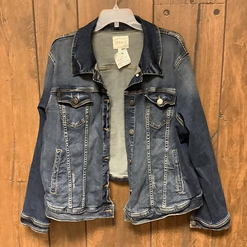 3X torrid Jean jacket