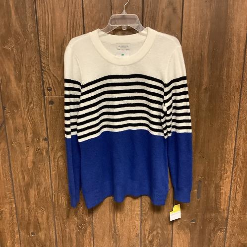 NWT Liz Claiborne color block sweater size L